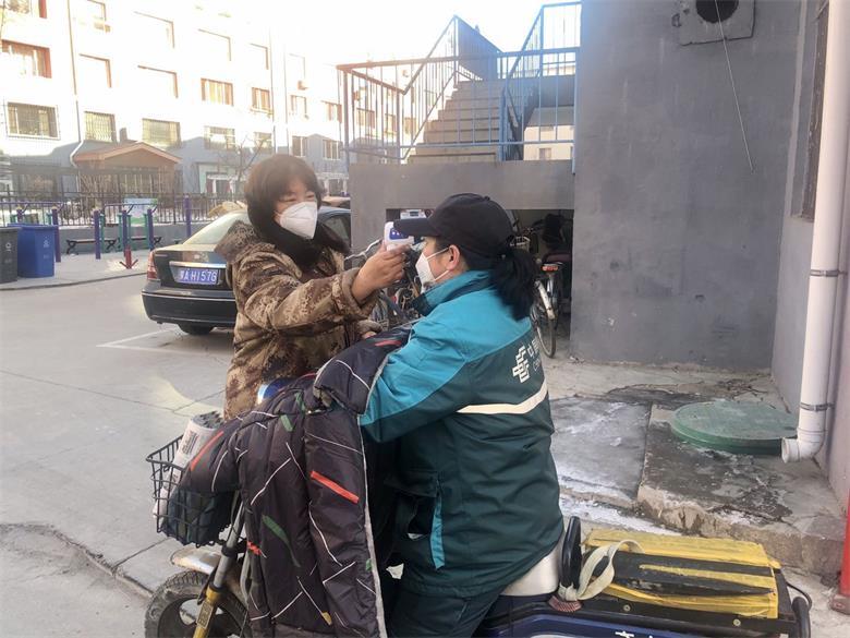 """呼和浩特景观小区联防联控严守疫情防控""""第一道防线"""""""