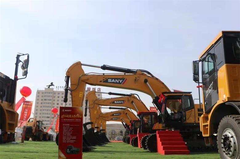 三一重机超大挖全球发布会内蒙古专场在锡林浩特举办