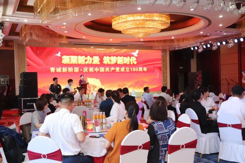 青城新阶层·庆祝中国共产党成立100周年主题活动举行